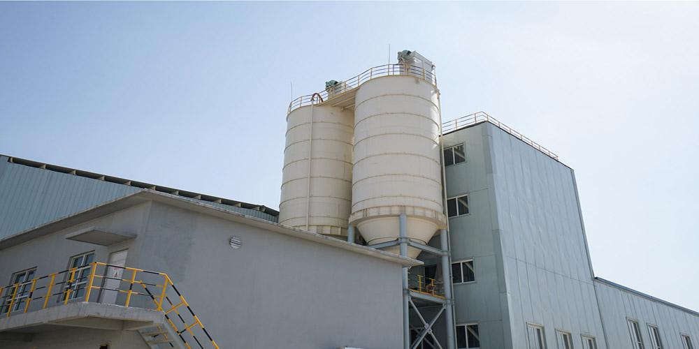 加气混凝土板材生产线——粉仓