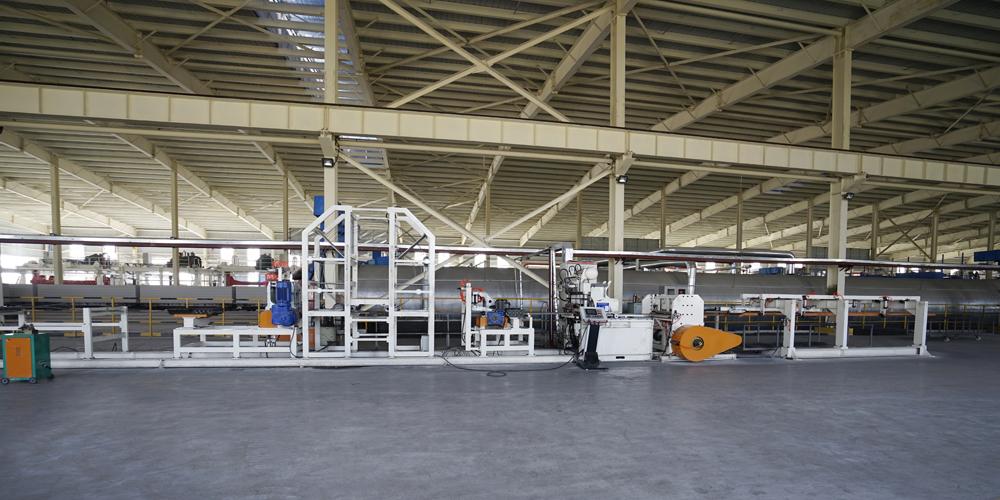 加气混凝土板材生产线——钢筋网笼
