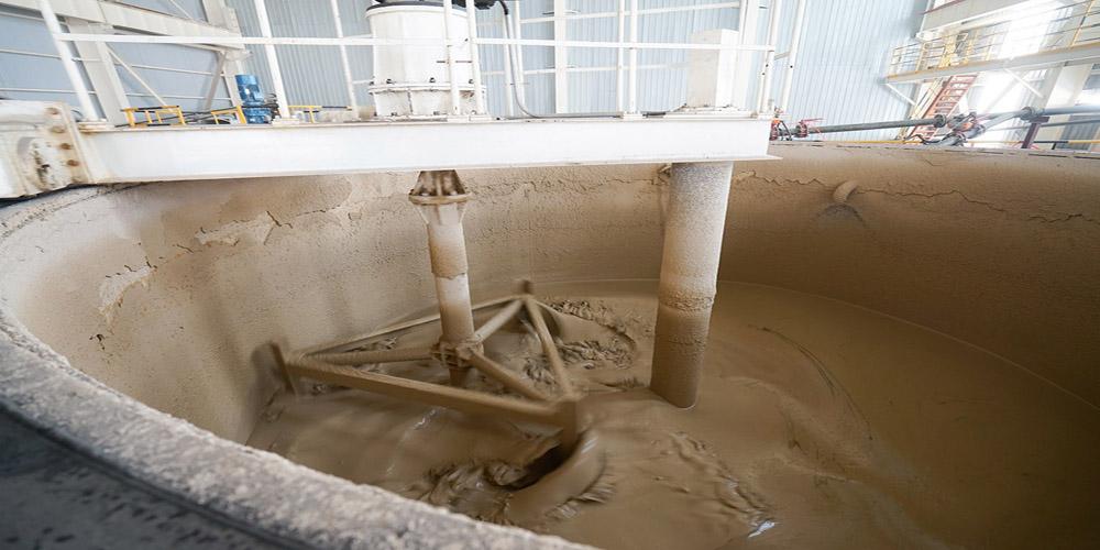 加气混凝土板材生产线——原料制浆