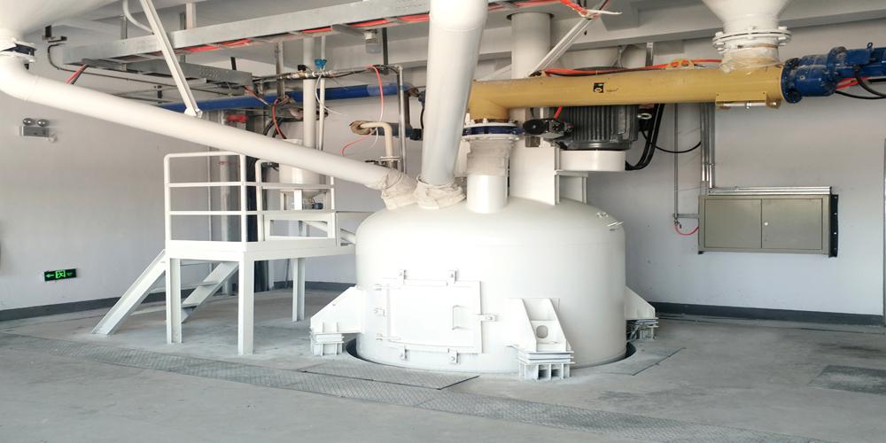 加气混凝土板材生产线——浇注搅拌机