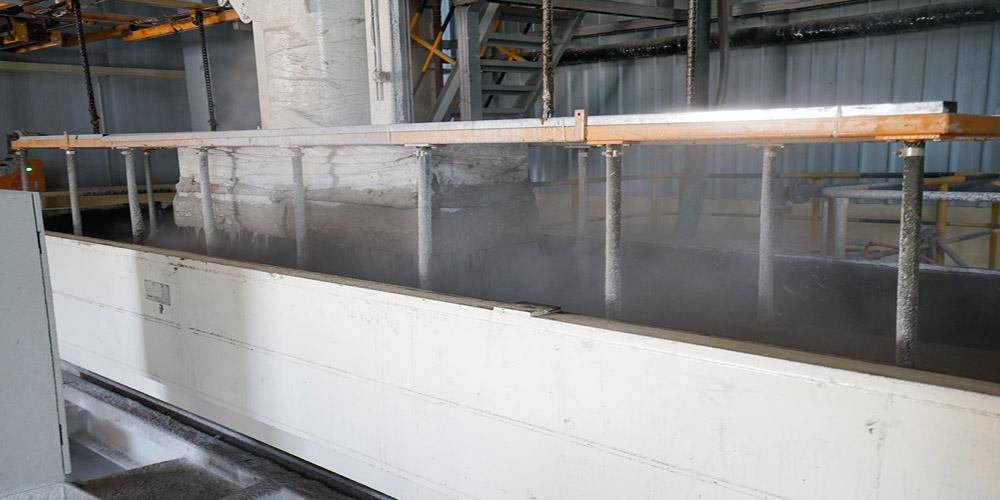 加气混凝土板材生产线——气泡整理