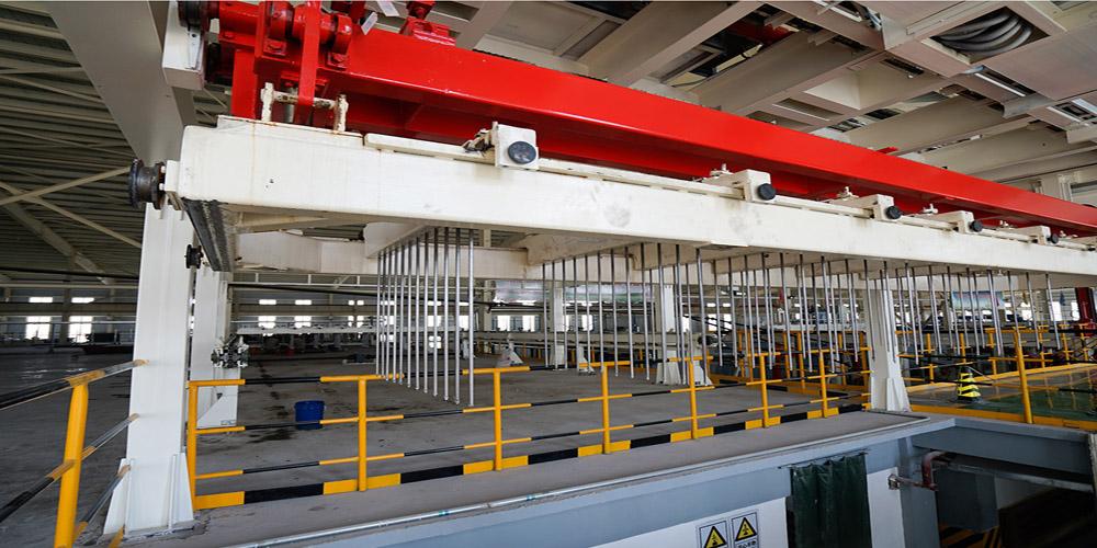加气混凝土板材生产线——插钎