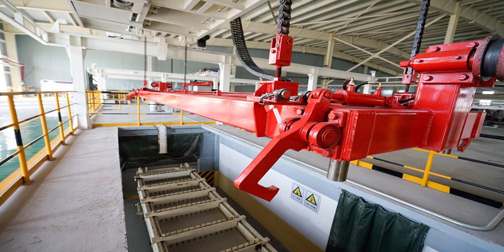加气混凝土板材生产线——拔钎
