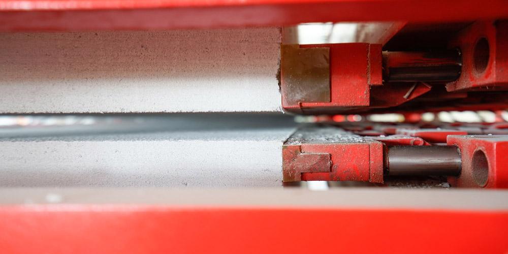 加气混凝土板材生产线——分掰