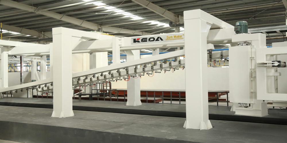 加气混凝土板材生产线——切割